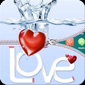 Download Love Heart Zipper Screen Lock APK to PC