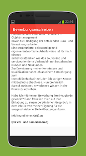 app bewerbung schreiben apk for windows phone - Bewerbung Schreiben App