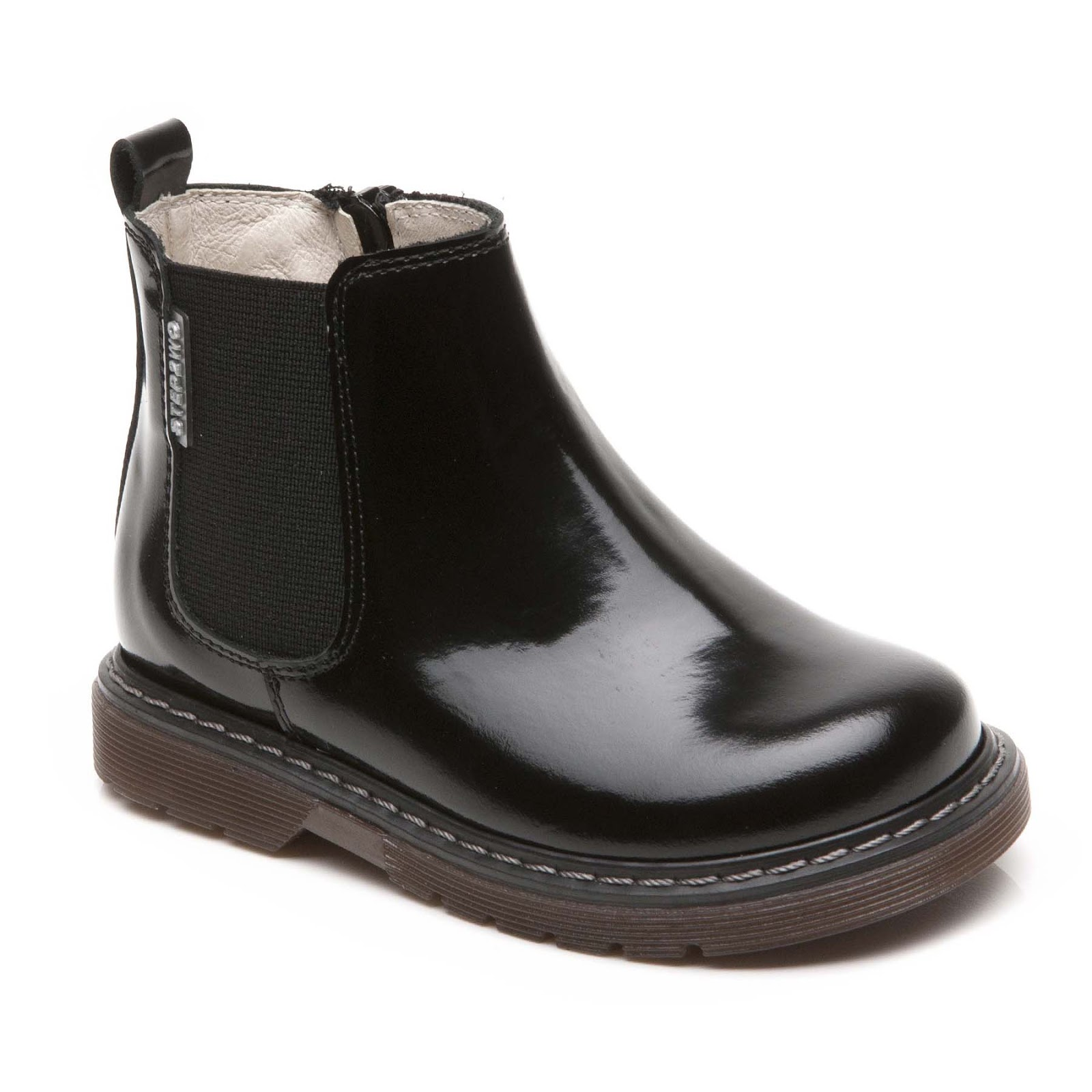 Step2wo | Step2wo | Harry - Chelsea Boot Children's Boot in Black ...
