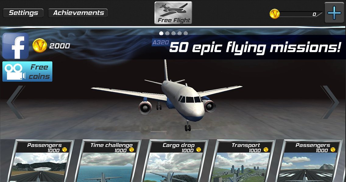 Real Pilot Flight Simulator 3D Screenshot 8