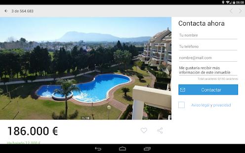 App Fotocasa rent and sale APK for Windows Phone