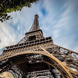 The Eiffel Tower by Shweta Chauhan - Buildings & Architecture Public & Historical ( paris, tower, eiffel, gustave, historic )