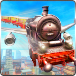 Flying Tourist Train Simulator 1.2 Apk
