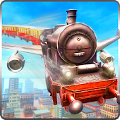 Download Flying Tourist Train Simulator APK to PC