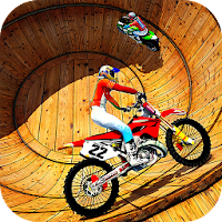 Well of Death Bike Stunt Drive For PC (Windows/Mac)