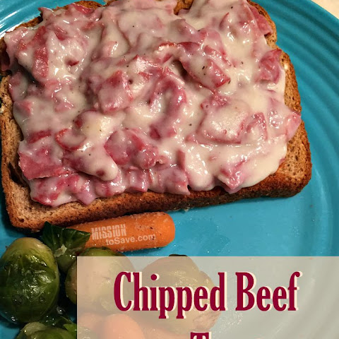 Classic Chipped Beef on Toast Recipe (S.O.S)