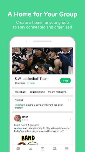 BAND - Organize your groups screenshot 2
