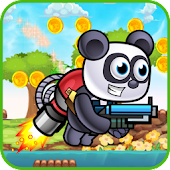 Adventure Subway Jetpack Panda New 2018 APK for Blackberry