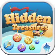 Hidden Treasure Match 3 Puzzle