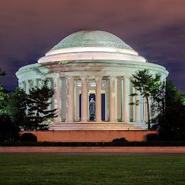 Jefferson Memorial by Robert Sellers - Buildings & Architecture Public & Historical ( dc, washington, memorial, jefferson, washington dc, thomas )