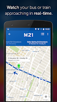 Screenshot of Transit App: Metro, Bus, Bike