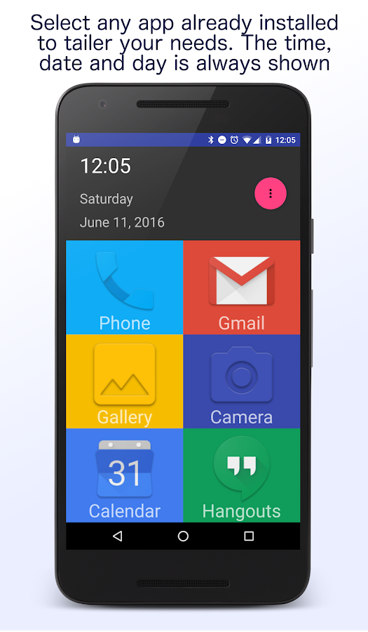 Senior Homescreen Pro Screenshot 1
