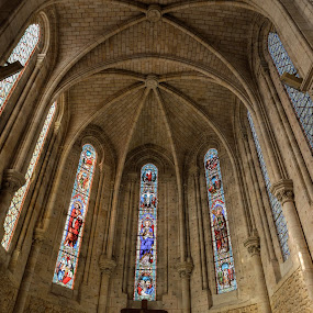 Church by Denis Sinoussi - Buildings & Architecture Public & Historical ( monuments, church, colors, stone, light,  )