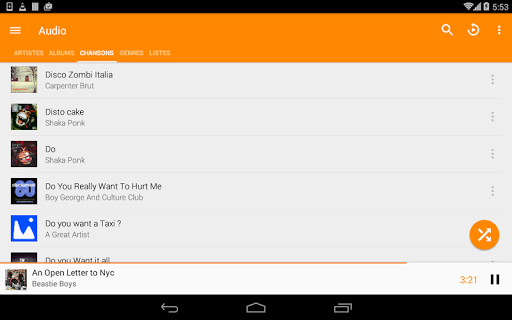 VLC for Android screenshot 23
