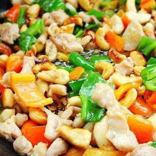 Best Slow Cooker Chicken with Cashews