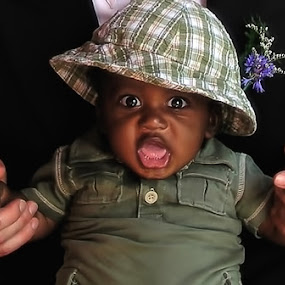 Surprised Little Boy by Melanie Metz - Babies & Children Children Candids ( child, african american, candid, toddler, surprise, boy )