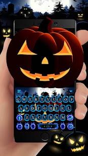 Cool Ghost Midnight Keyboard Theme