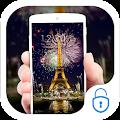 Night Paris Eiffel Tower Theme