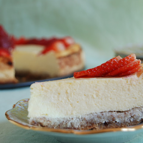 New York Style Cheesecake – Low-Carb & Gluten-Free