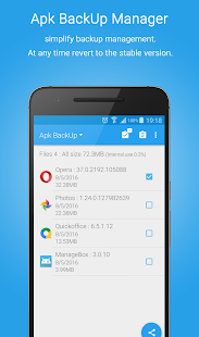 App Manager Screenshot