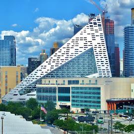 Scalene by Gary Ambessi - City,  Street & Park  Skylines