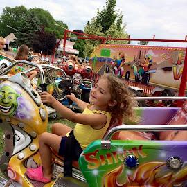 Free Ride by Ginny Serio - Babies & Children Children Candids ( #carnivalfun,  )