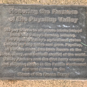 Honoring the Farmers of the Puyallup Valley