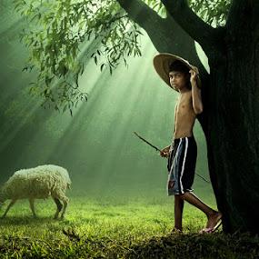 Keseharianku by Ipoenk Graphic - Digital Art People