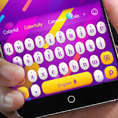 App Colorful Bubbles Keyboard APK for Windows Phone