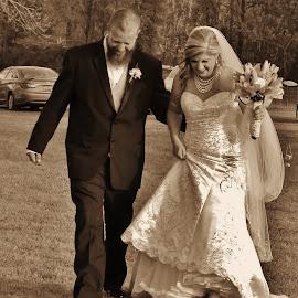 Introduction by Terry Linton - Wedding Bride & Groom