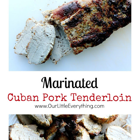 Marinated Cuban Pork Tenderloin