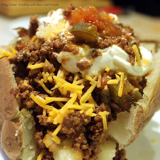 Taco Loaded Baked Potato