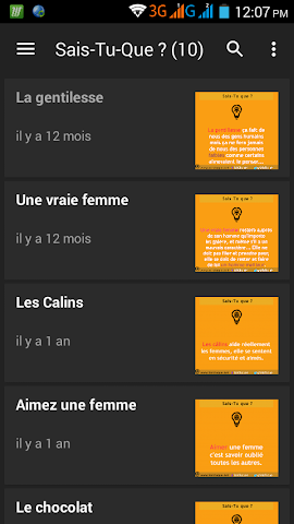 android Sais-Tu-Que ? 2016 Screenshot 1
