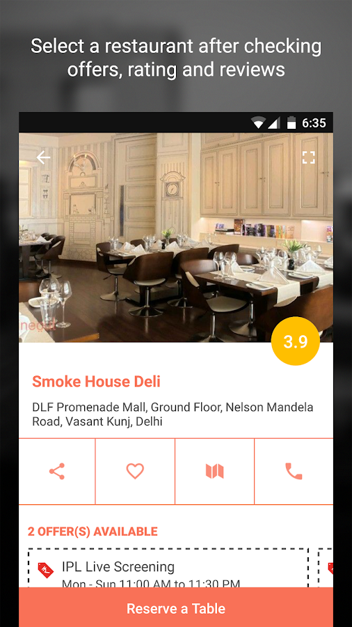 Dine out: Restaurant Deals Screenshot 3