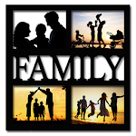 Family Picture Frames Icon