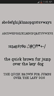 Free Fonts Love - screenshot