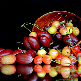 Cherry n dates by Asif Bora - Food & Drink Fruits & Vegetables