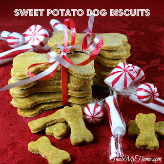 Sweet Potato Dog Biscuits