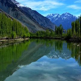 Khalti Lake by Aamer Rabbani - Landscapes Travel (  )