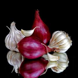 Onion-garlic by Asif Bora - Food & Drink Ingredients
