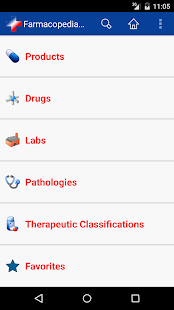 Farmacopedia Chile screenshot for Android