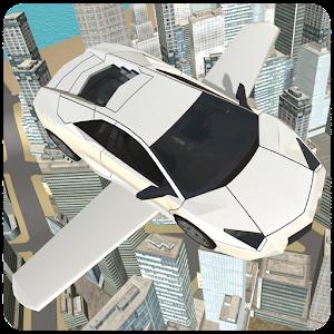 Flying Sports Car Simulator For PC (Windows & MAC)