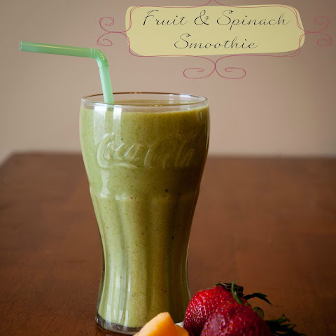 Fruit and Spinach Smoothie