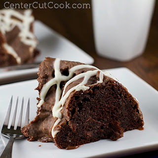Double Chocolate Brownie Cake