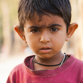 curiosity by Samrat Sam - Babies & Children Child Portraits