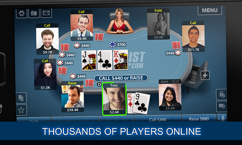 Texas Poker Screenshot