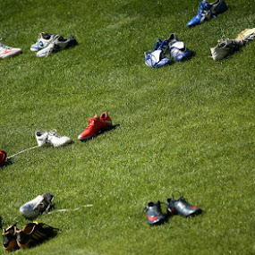 relax, just 2 minutes... by Paolo Tangari - Sports & Fitness Soccer/Association football ( shoes, football, sport, soccer )