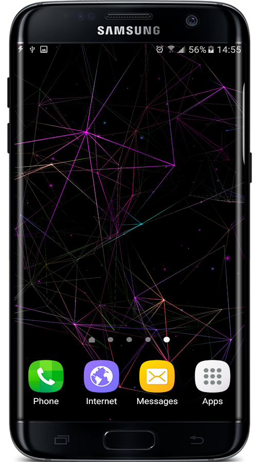 Particle Plexus Live Wallpaper Screenshot 0