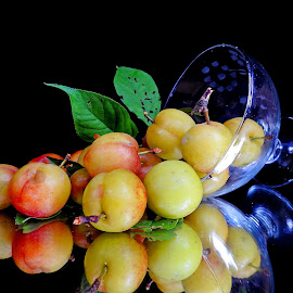 Plum by Asif Bora - Food & Drink Fruits & Vegetables