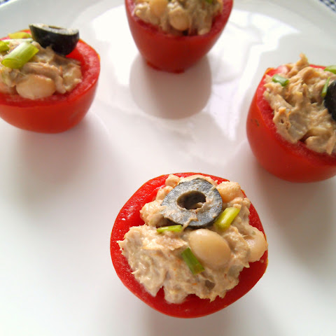 Tuna and White Bean Salad with Tahini